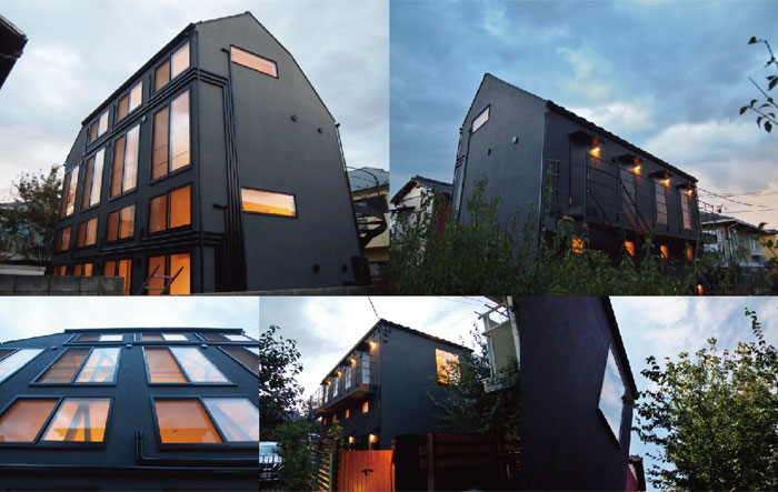 木造2階建アパートの特徴
